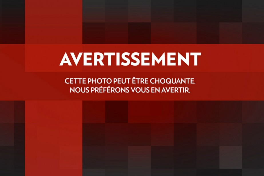 avertissement photo (La Presse)