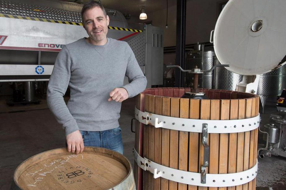 Le vinificateur du domaine Benjamin Bridge, Jean-Benoît Deslauriers.... (PHOTO ANDREW VAUGHAN, ARCHIVES LA PRESSE CANADIENNE)
