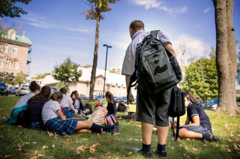 Le nombre d'écoles non mixtes a beaucoup diminué... (PHOTO MARCO CAMPANOZZI, LA PRESSE)