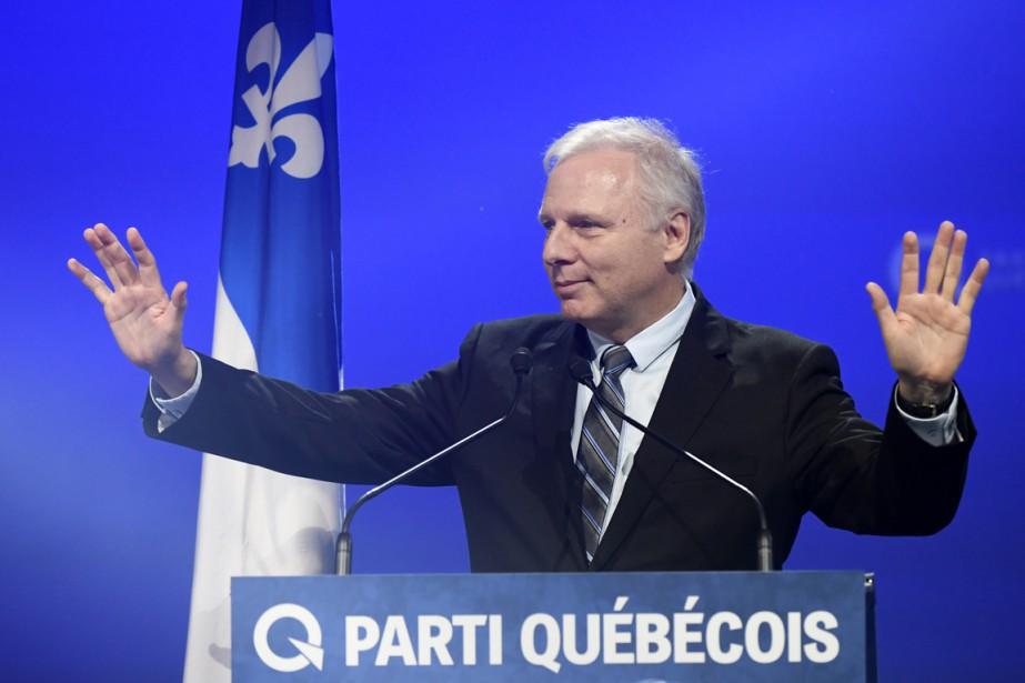 Jean-François Lisée a reçul'appui de 50,63% des militants qui se sont exprimés. (PHOTO BERNARD BRAULT, LA PRESSE)