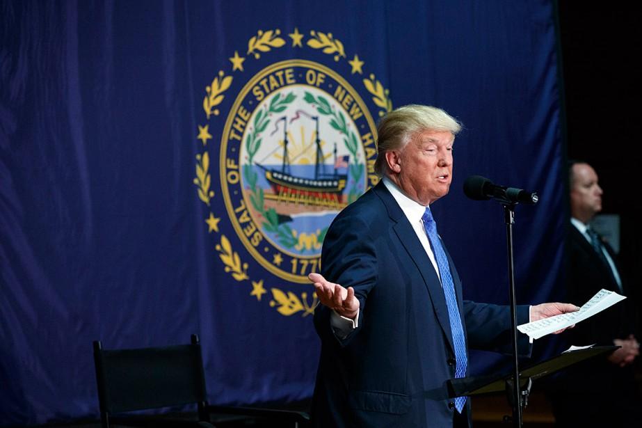 Donald Trump a participé à une assemblée à... (PHOTO EVAN VUCCI, ARCHIVES AP)