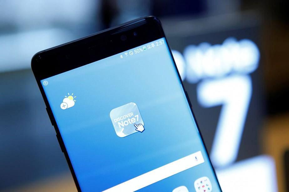 Samsung avait alors dit avoir trouvé 35cas où... (PHOTO KIM HONG-JI, REUTERS)