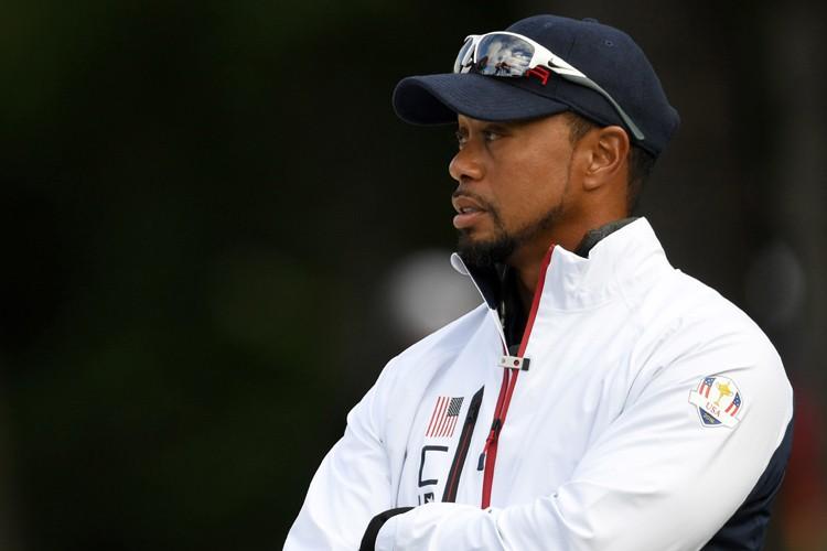 Tiger Woods estdésormais le 786e joueur mondial.... (PHOTO REUTERS)