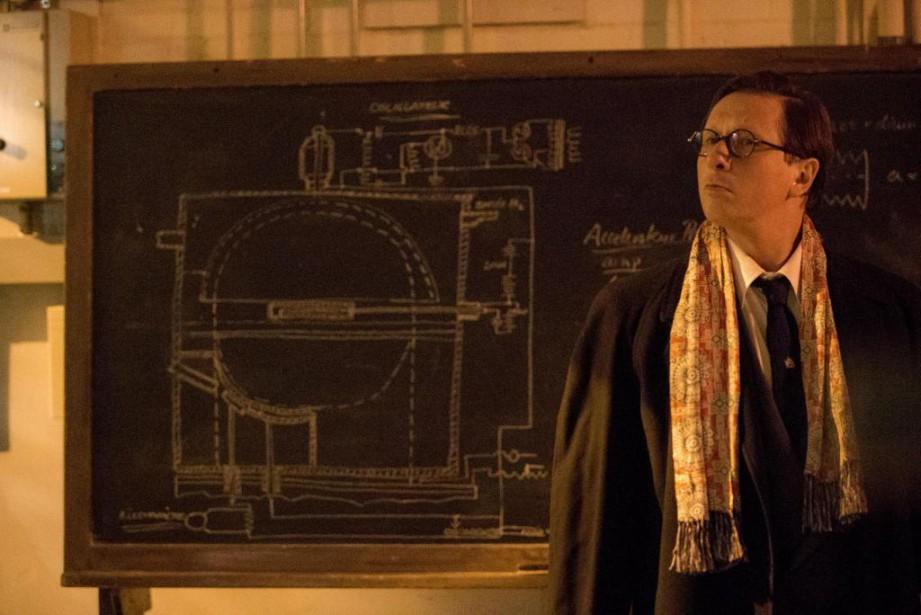 Paul Ahmarani dans Le cyclotron.... (photo fournie par le FNC)