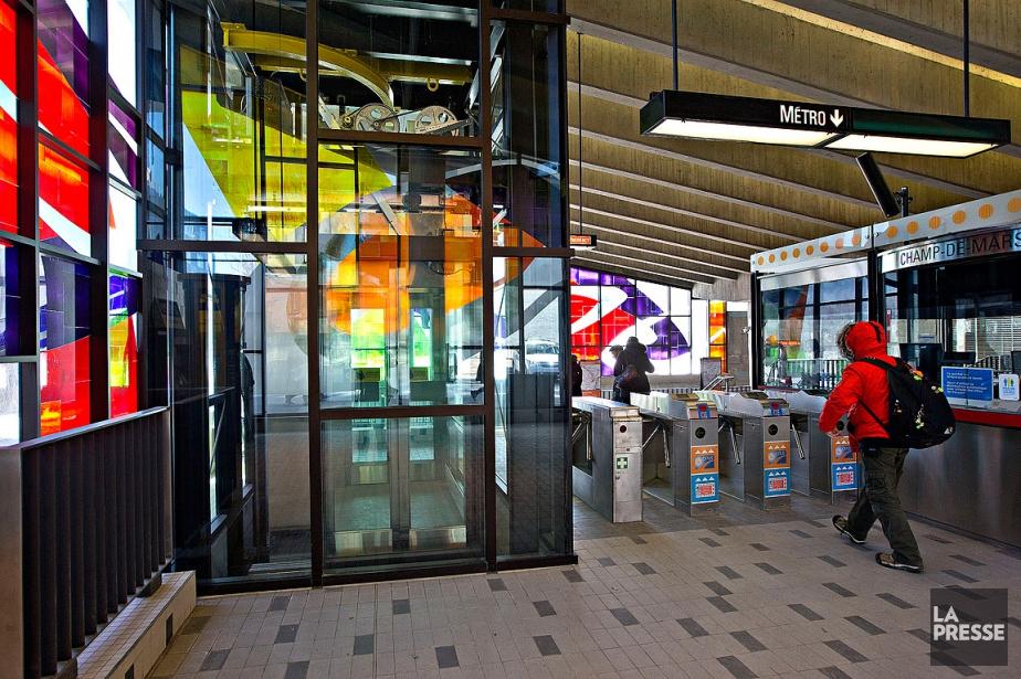Le métro compte actuellement 10stations munies d'ascenseurs, dont... (PATRICK SANSFAÇON, ARCHIVES LA PRESSE)