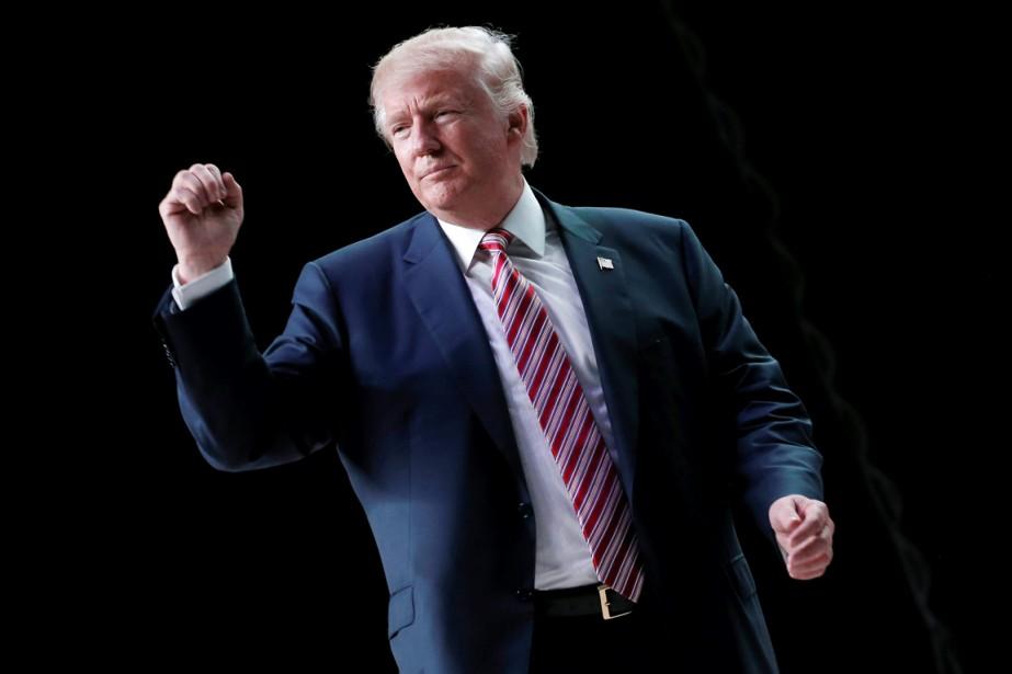 Le sulfureux candidat républicain à la présidentielle américaine... (photo Mike Segar, REUTERS)