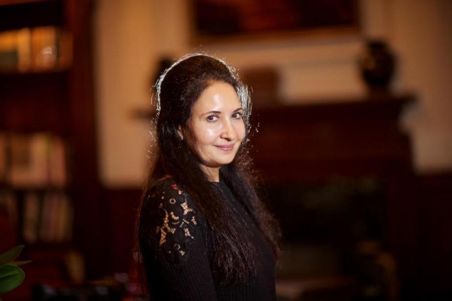 La cinéaste yéméniteKhadija al-Salamia fait de la liberté... (PhotoANDRÉ PICHETTE, La Presse)