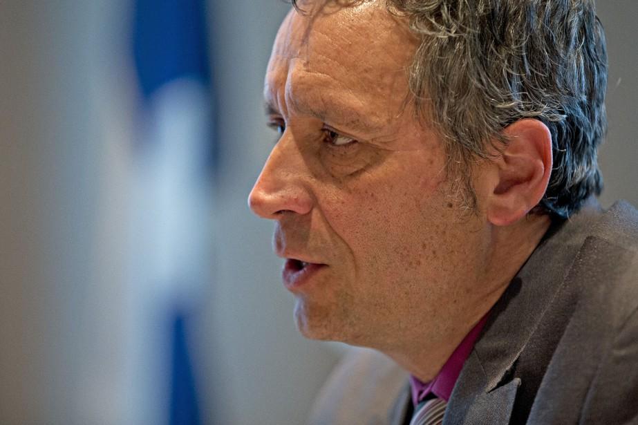 Stéphane Maher... (Photo Olivier Jean, archives La Presse)