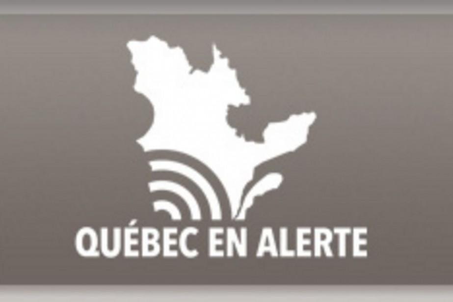 «Québec En Alerte» est un système qui permet... (Tirée du site de la Sécurité publique du Québec)