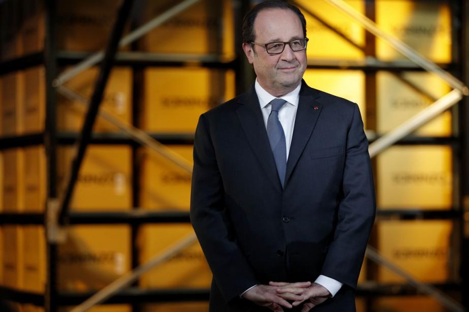 Le président français François Hollande.... (photo Yoan VALAT, AFP)