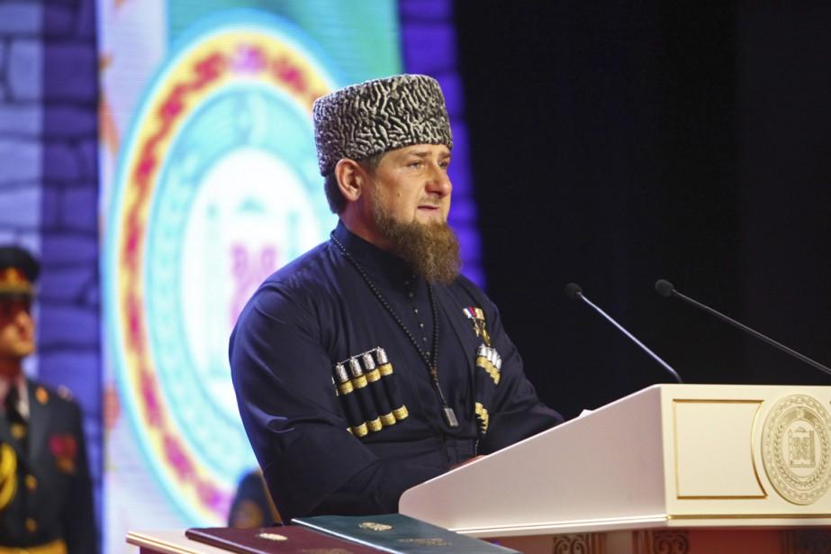 Le premier ministre tchétchène Ramzan Kadyrov.... (photo Musa Sadulayev, archives AP)