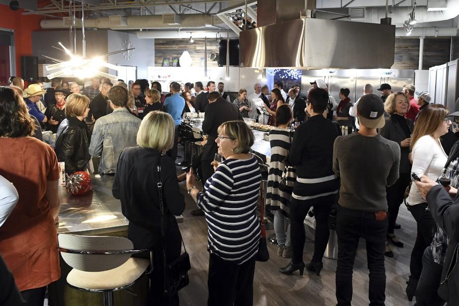 C'était soir de lancement, mercredi, pour Saguenay en Bouffe. (Photo Le Quotidien, Rocket Lavoie)
