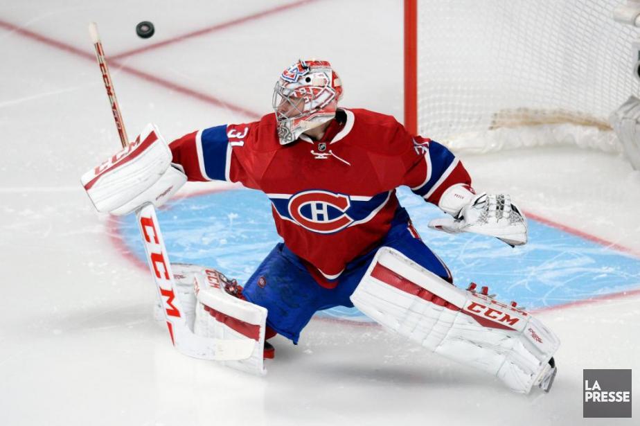 Le gardien du Canadien de Montréal est l'un... (Photo Bernard Brault, Archives La Presse)