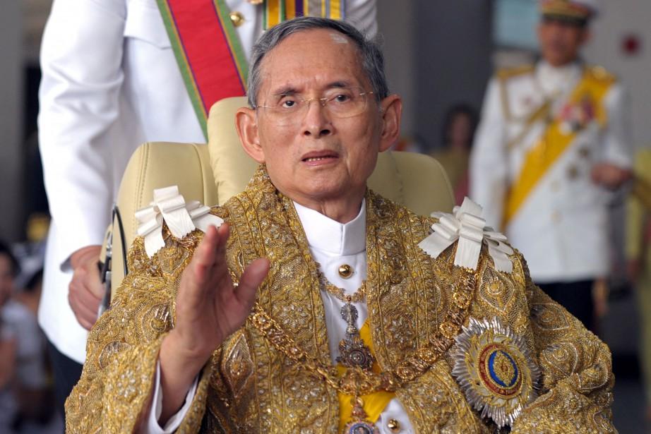 Le roi Bhumibol Adulyadej était âgé de 88 ans. (photo AFP)