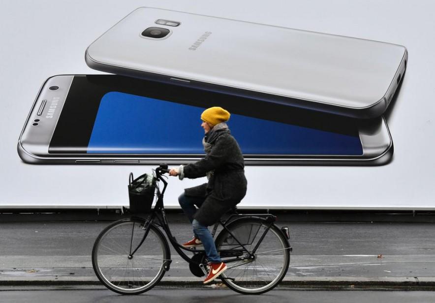 Les grandes qualités du Galaxy Note 7 de... (Photo John MacDougall, Agence France-Presse)