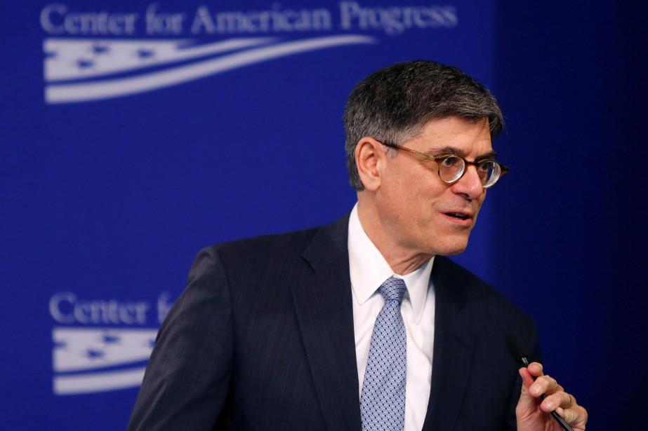 Le secrétaire américain au TrésorJack Lew... (Photo Gary Cameron, REUTERS)