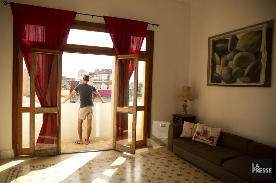 La casa Alta-Habanaest située à deux pas de... (PHOTO MARTIN CHAMBERLAND, LA PRESSE)