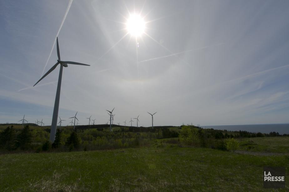 Le parc éolien de Cap-Chat, en Gaspésie... (PHOTO FRANÇOIS ROY, ARCHIVES LA PRESSE)