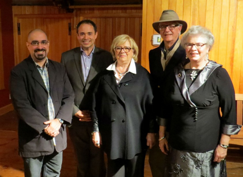 François Martin, Frédéric Laflamme, Monique Jacob, André Hamel...