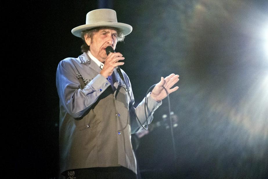 Bob Dylan... (PHOTO ARCHIVES AP)