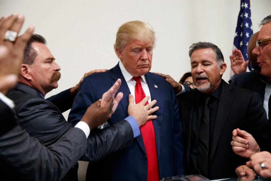 Pas moins de 75% des évangéliques blancs expriment... (Photo Associated Press)