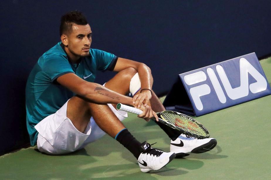 L'ATP a a annoncé lundi que Nick Kyrgiosétait... (Photo Vaughn Ridley, archives AFP)
