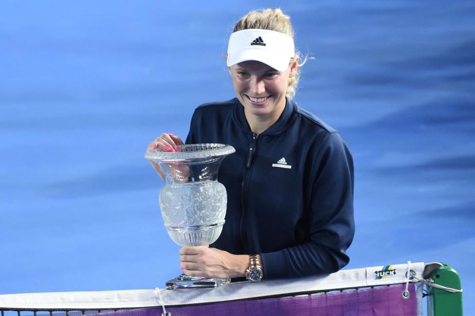 Caroline Wozniacki a remporté le tournoi de Hong... (Photo Anthony Wallace, AFP)