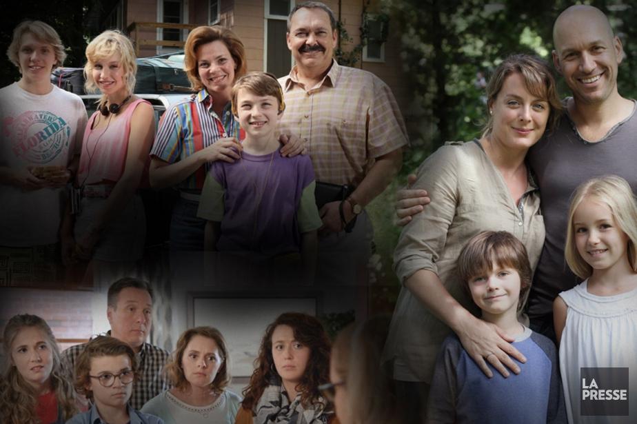 Est-ce que les familles présentées au petit écran... (PHOTOMONTAGE LA PRESSE)