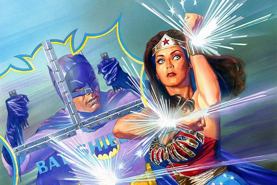 Wonder Woman en compagnie de Batman... (Image AP/fournie par DC Entertainment)