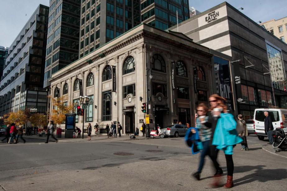 Construit en 1931, l'immeuble sis au 777, rue... (Photo Hugo-Sébastien Aubert, Archives La Presse)