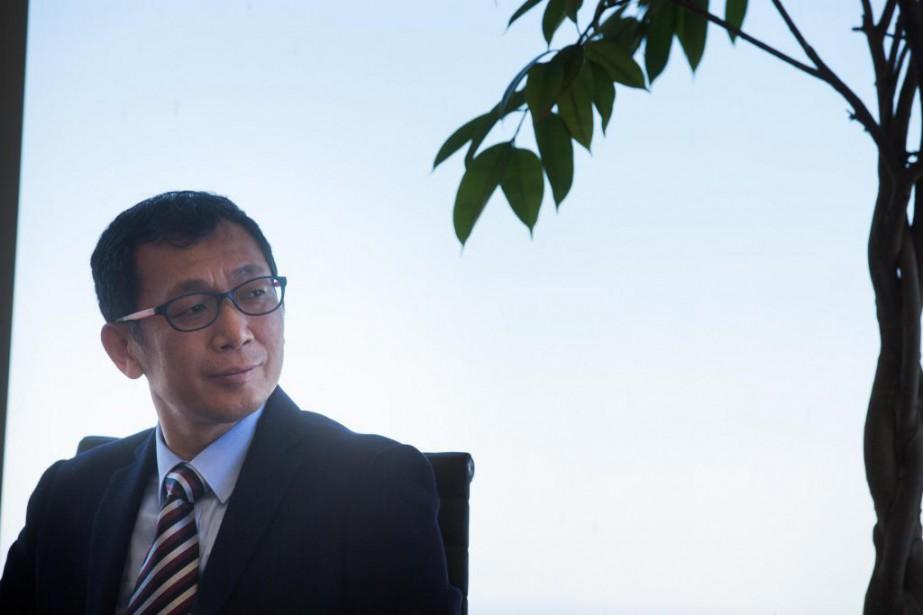 Un important groupe d'investisseurs chinois membres de Zhongguancun... (Photo Olivier PontBriand, La Presse)