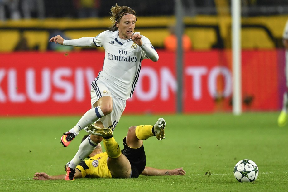 Luka Modric... (Photo Martin Meissner, AP)