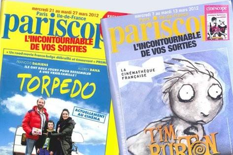 Le célèbre hebdomadaire Pariscope, qui... (PHOTO TIRÉE DE FACEBOOK)