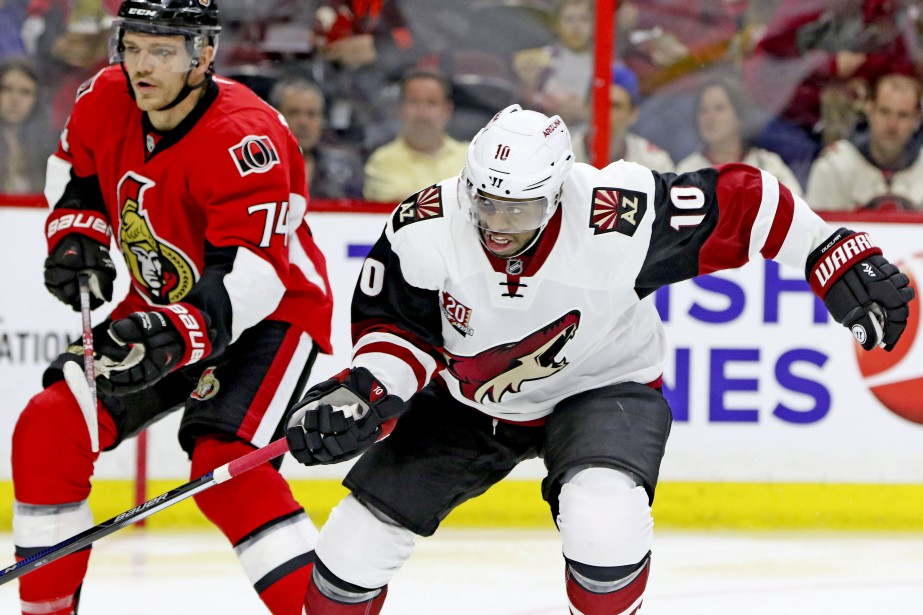Mark Borowiecki et Anthony Duclair (Patrick Woodbury, LeDroit)