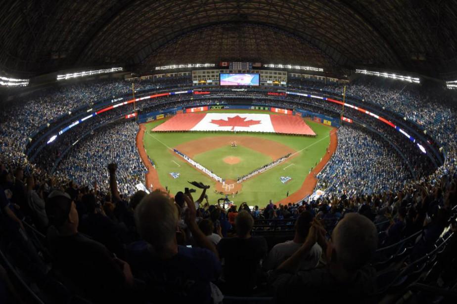 Grâce au toit amovible du Rogers Centre, aucun... (PhotoDan Hamilton, archives USA TODAY Sports)