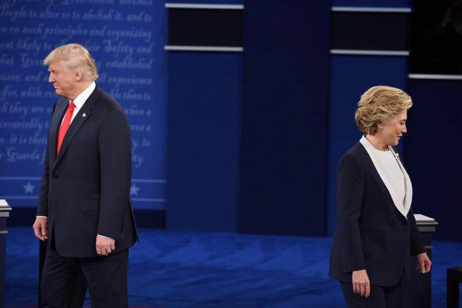 La démocrate Hillary Clinton et le républicain Donald... (photo Robyn Beck, AFP)
