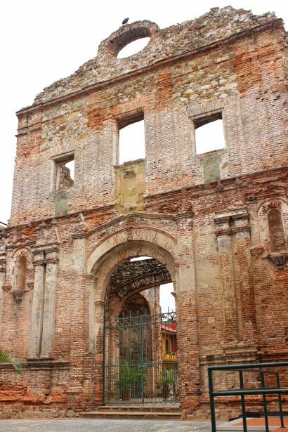 De nombreuses ruines et d'anciens remparts se trouvent dans la vieille ville. (Crédit photo: Sarah-Émilie Nault)