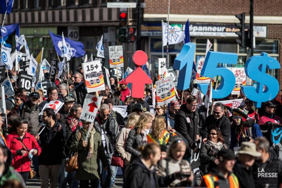 Plus d'un millier de personnes ont marché dans... (Photo d'archives)