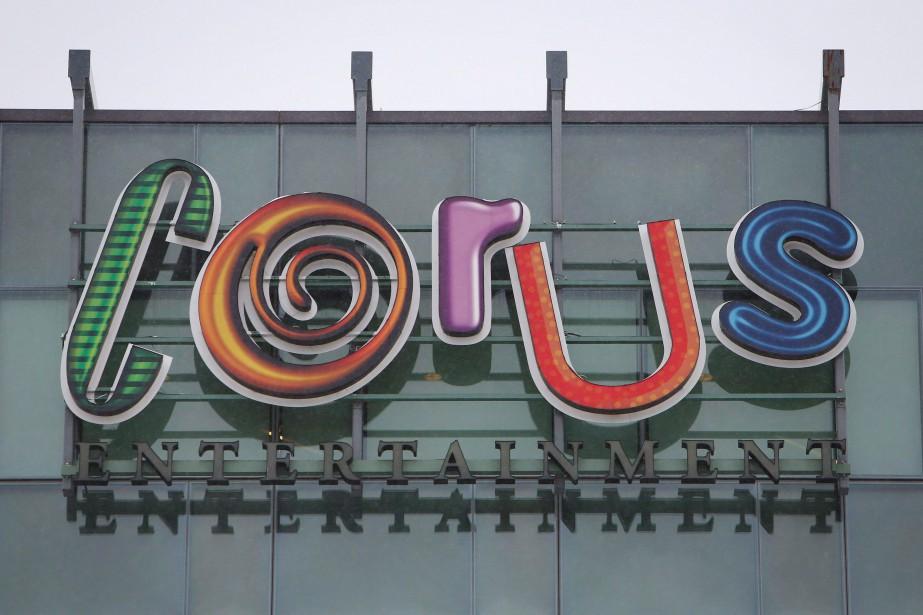 Les revenus deCorus Entertainmentont totalisé 1,17 milliard, par... (Cole Burston, La Presse canadienne)