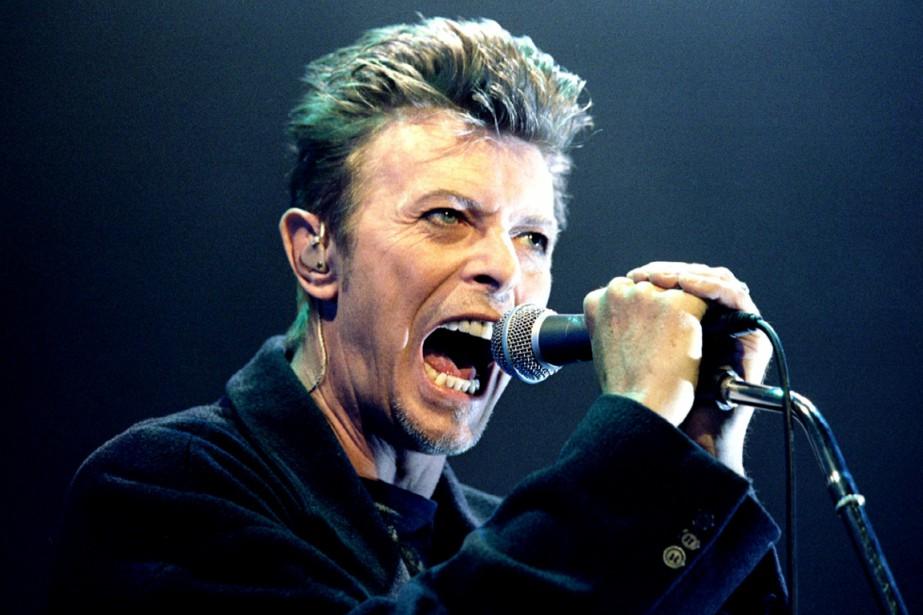 David Bowie... (PHOTO ARCHIVES REUTERS)