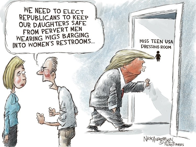 Illustration: Nick Anderson  | 20 octobre 2016