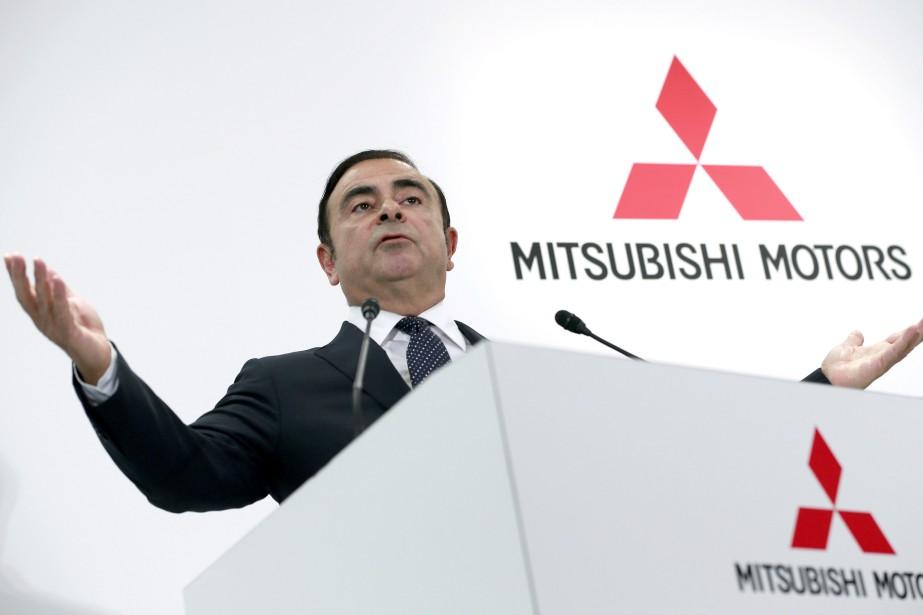 Le grand patron de l'Alliance Renault-Nissan, ce matin,... (photo AP)