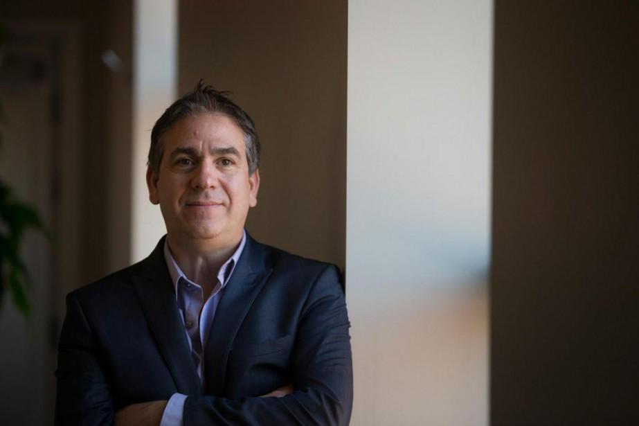 Michael Battah, président de ShapeOn,est prêt à se... (Photo Ivanoh Demers, La Presse)