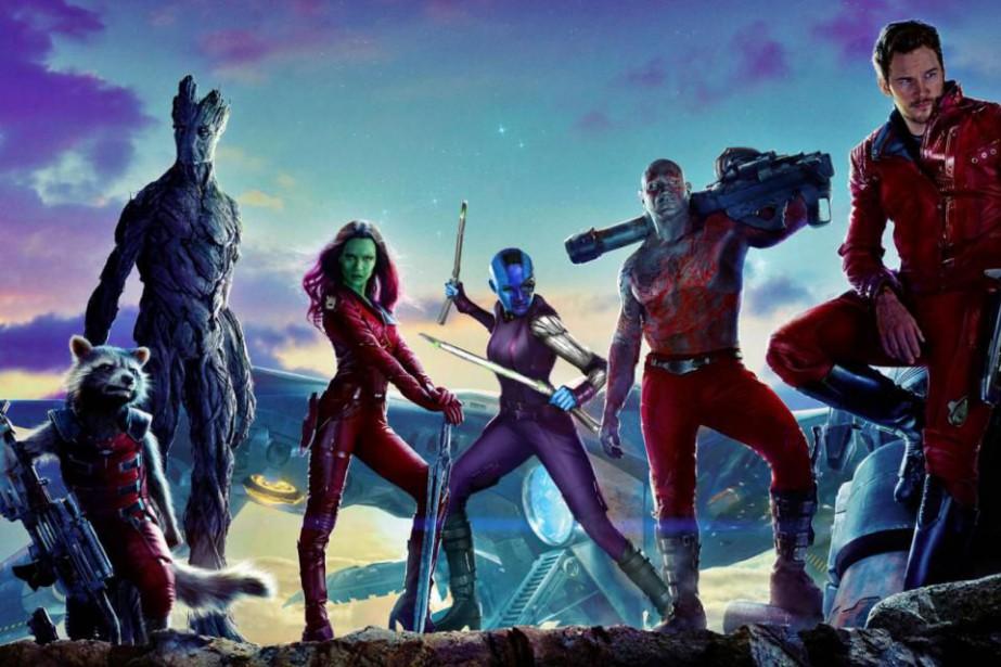 Les gardiens de la galaxie sont de retour.... (Image tirée d'internet)
