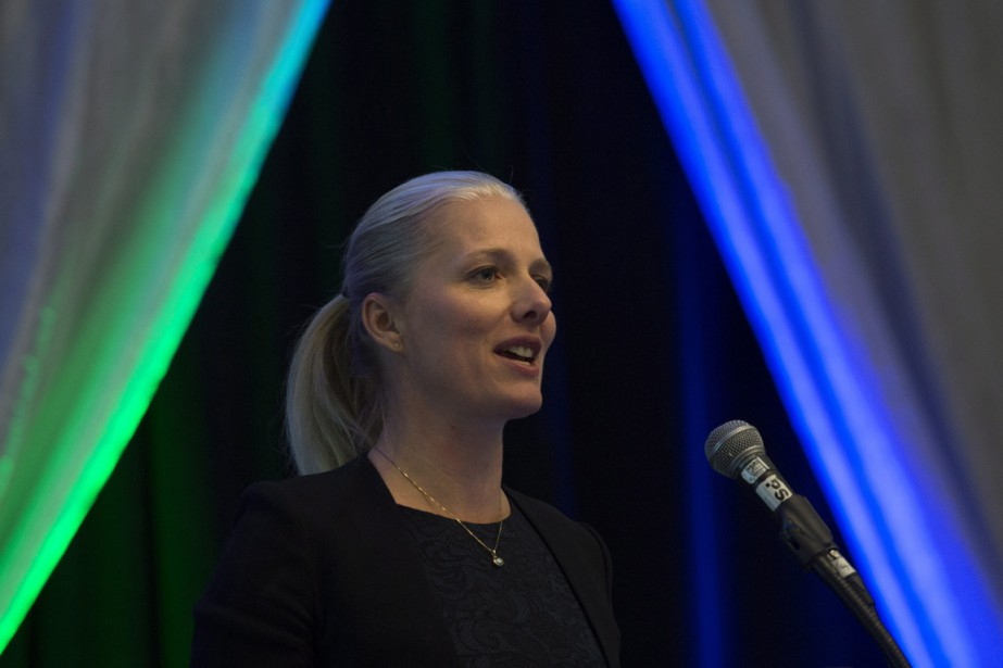 Catherine McKenna, la ministre fédérale de l'Environnement... (PHOTO Adrian Wyld, PC)