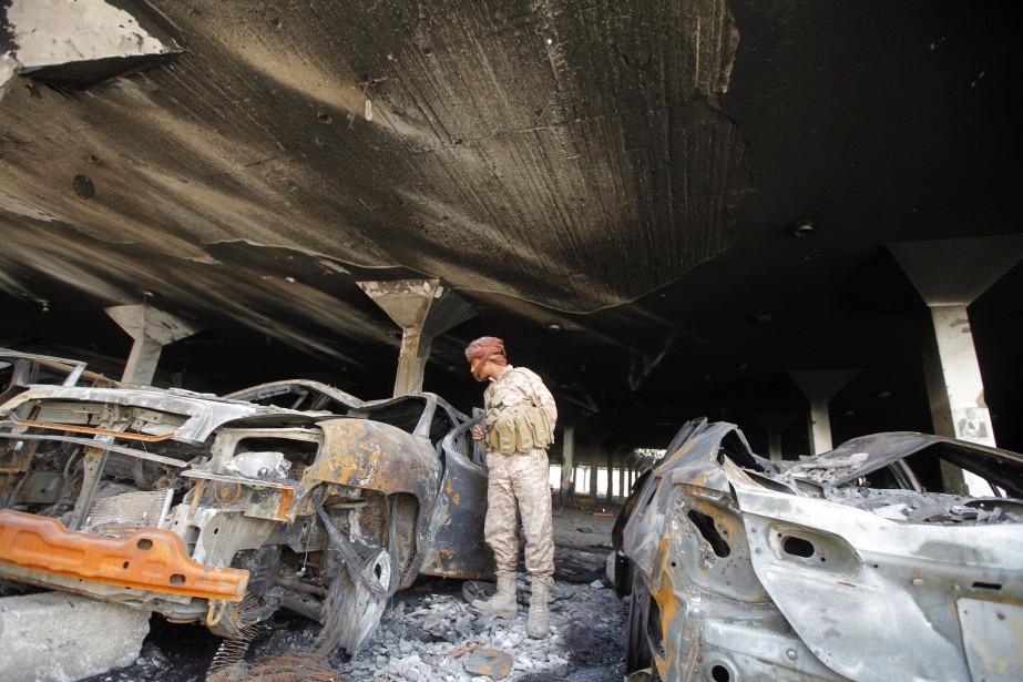 Cette guerre a fait plus de 6900 morts,... (PHOTO Mohamed al-Sayaghi, archives Reuters)