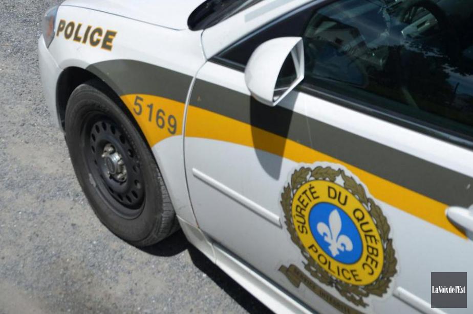 La Sûreté du Québec confirme avoir été appelée... (PhotoMaxime Sauvage, archives La Voix de l'Est)