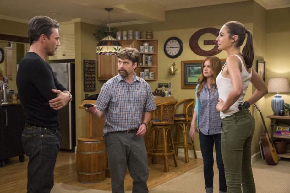 Jon Hamm, Zach Galifianakis, Isla Fisher et Gal... (Photo Bob Mahoney, fournie par Twentieth Century Fox)