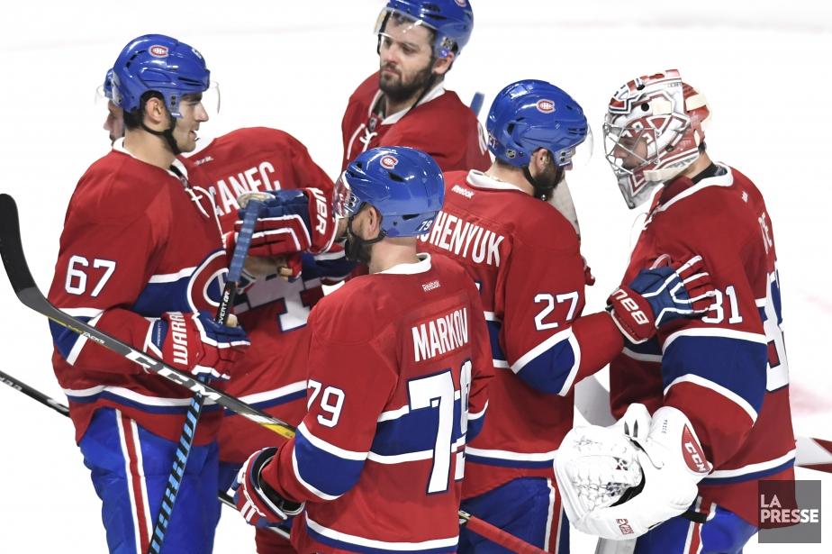 Le Canadien occupe lepremier rang de la section... (Photo Bernard Brault, La Presse)