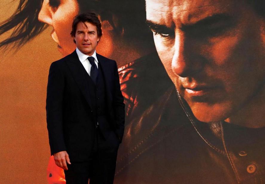 Tom Cruise a assisté, jeudi, à la première... (PhotoEddie Keogh, Reuters)